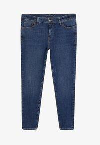 Violeta by Mango - KYLIE - Jeans Skinny Fit - dunkelblau - 3