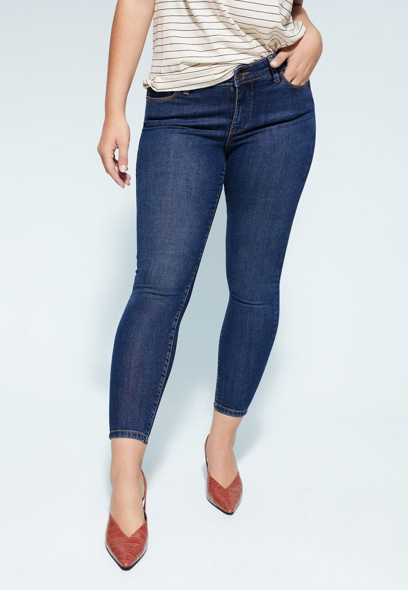 Violeta by Mango - KYLIE - Jeans Skinny Fit - dunkelblau