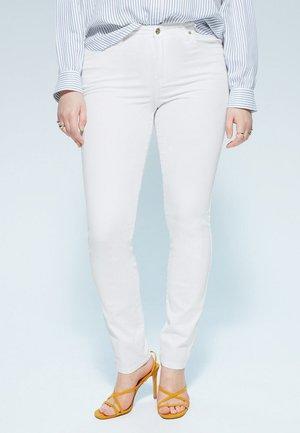 VALENTIN - Slim fit jeans - white