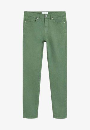 JULIA - Slim fit jeans - grün