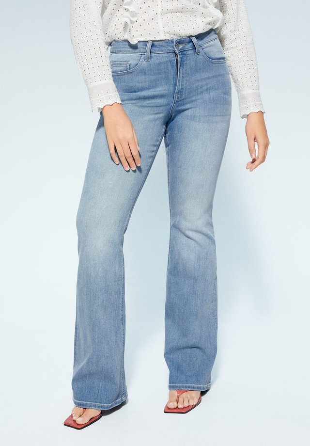 CANDICE-I - Flared jeans - hellblau