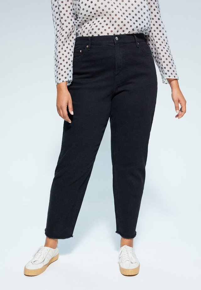 STELLA - Jeans Straight Leg - black denim