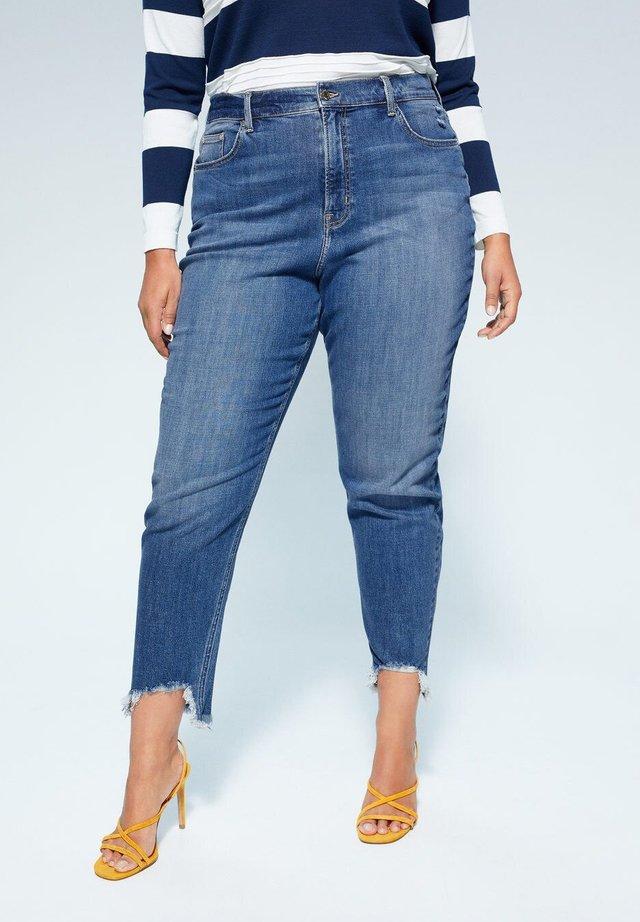 STELLA - Jeans a sigaretta - middenblauw