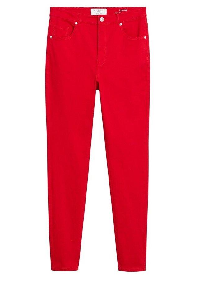 LORENAC - Slim fit jeans - rot