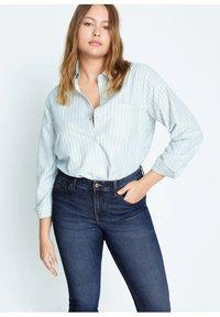 Violeta by Mango - SUSAN - Jeans Slim Fit - dunkelblau - 3