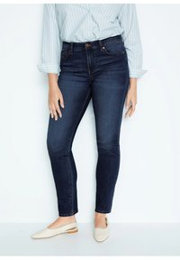 Violeta by Mango - SUSAN - Jeans Slim Fit - dunkelblau - 0