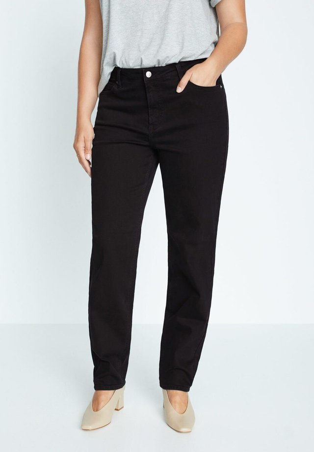ELY - Jeans Relaxed Fit - black denim