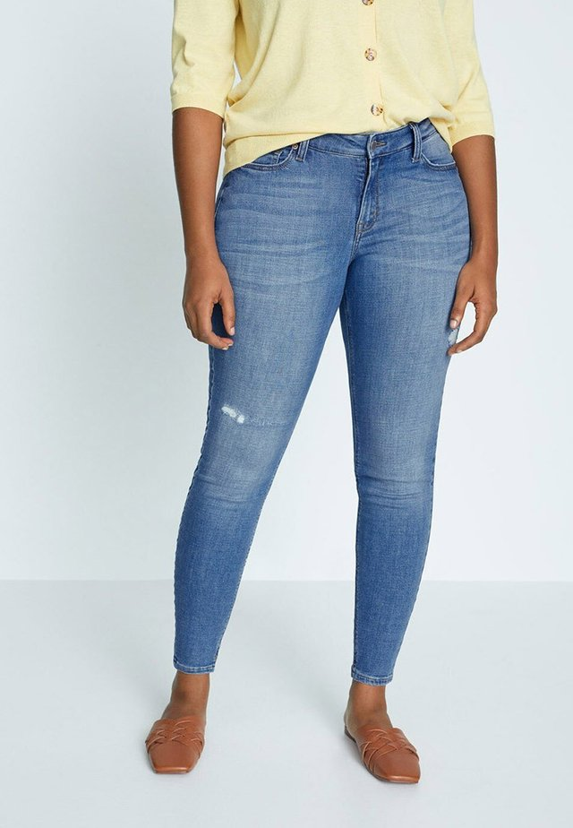 ANDREA - Slim fit jeans - hellblau