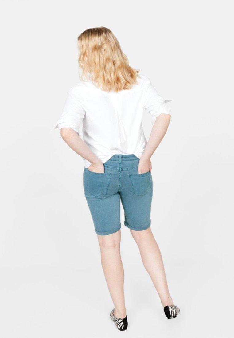 Violeta by Mango - SODAC - Jeans Shorts - petrol blue