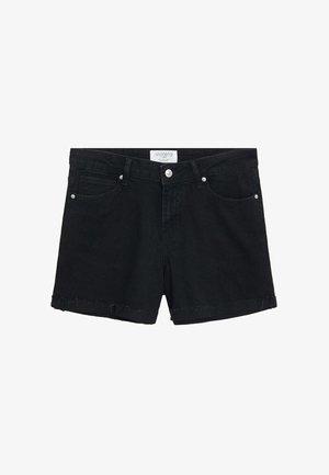 VICKY - Short en jean - black denim