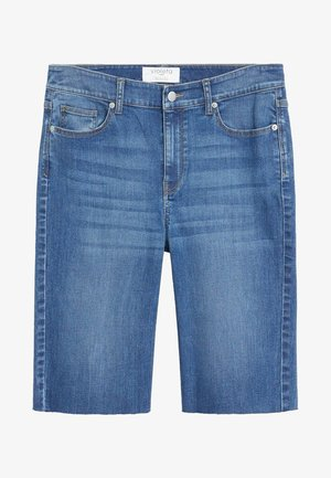 SODA - Jeans Short / cowboy shorts - mittelblau