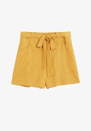 INDI7 - Shorts - senfgelb