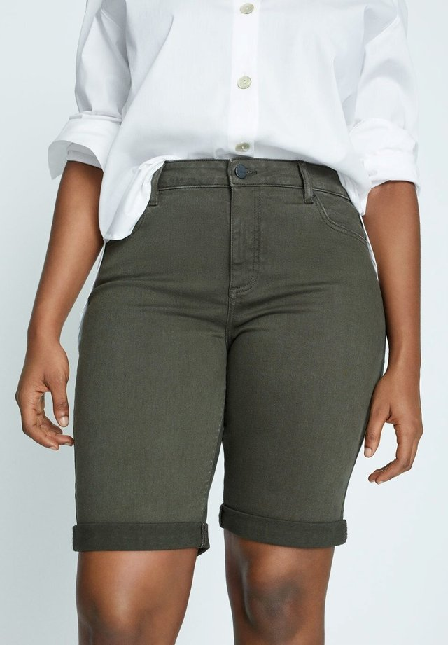 SODAC - Denim shorts - khaki
