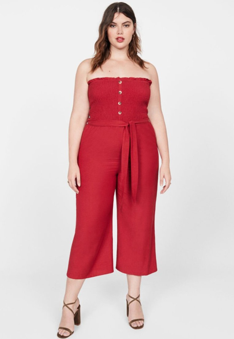 Violeta by Mango - JUMP - Jumpsuit - red