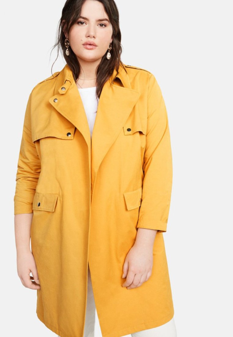 Violeta by Mango - YELLOW - Trenchcoat - yellow