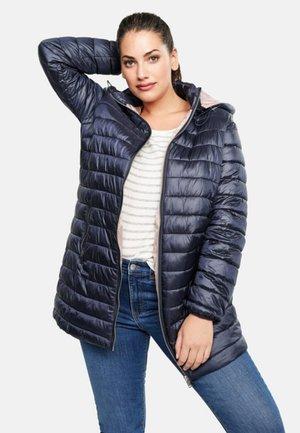 SELLER - Gewatteerde jas - navy blue