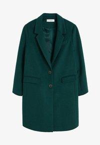 Violeta by Mango - BASIC - Płaszcz wełniany /Płaszcz klasyczny - petrol blue - 5