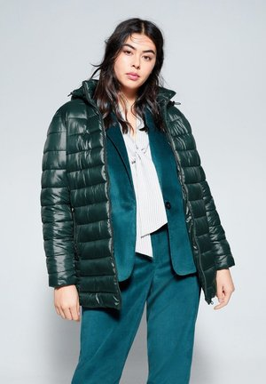 RISE - Płaszcz zimowy - dark green