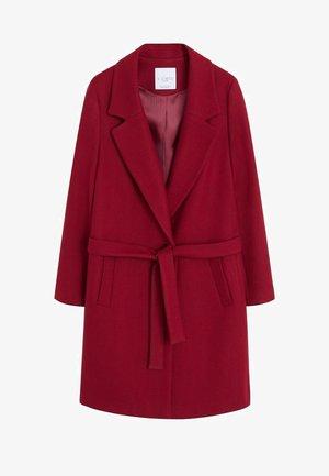CLUSO - Krótki płaszcz - bordeaux