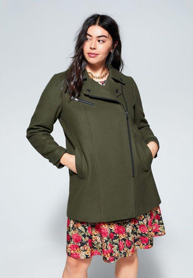 ELECTRI - Short coat - khaki