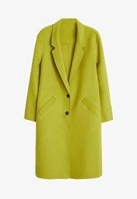 Violeta by Mango - BANS - Classic coat - lime - 5
