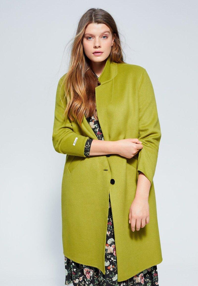 Violeta by Mango - BANS - Classic coat - lime