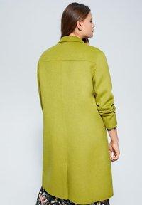 Violeta by Mango - BANS - Classic coat - lime - 2