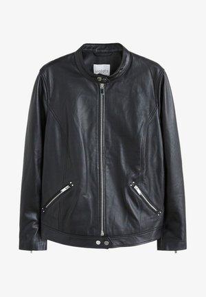 CHELSEA - Leather jacket - schwarz