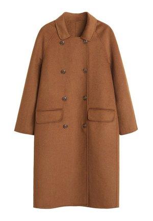 NOELIA - Płaszcz wełniany /Płaszcz klasyczny - karamel
