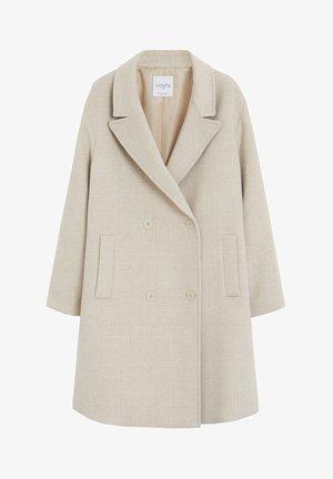 DION - Halflange jas - beige