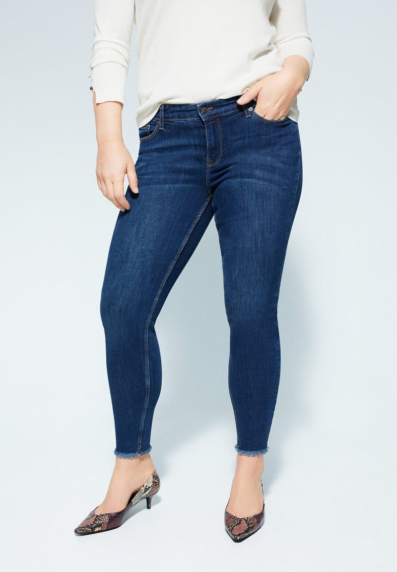 Violeta by Mango - ANDREA - Slim fit jeans - dunkelblau