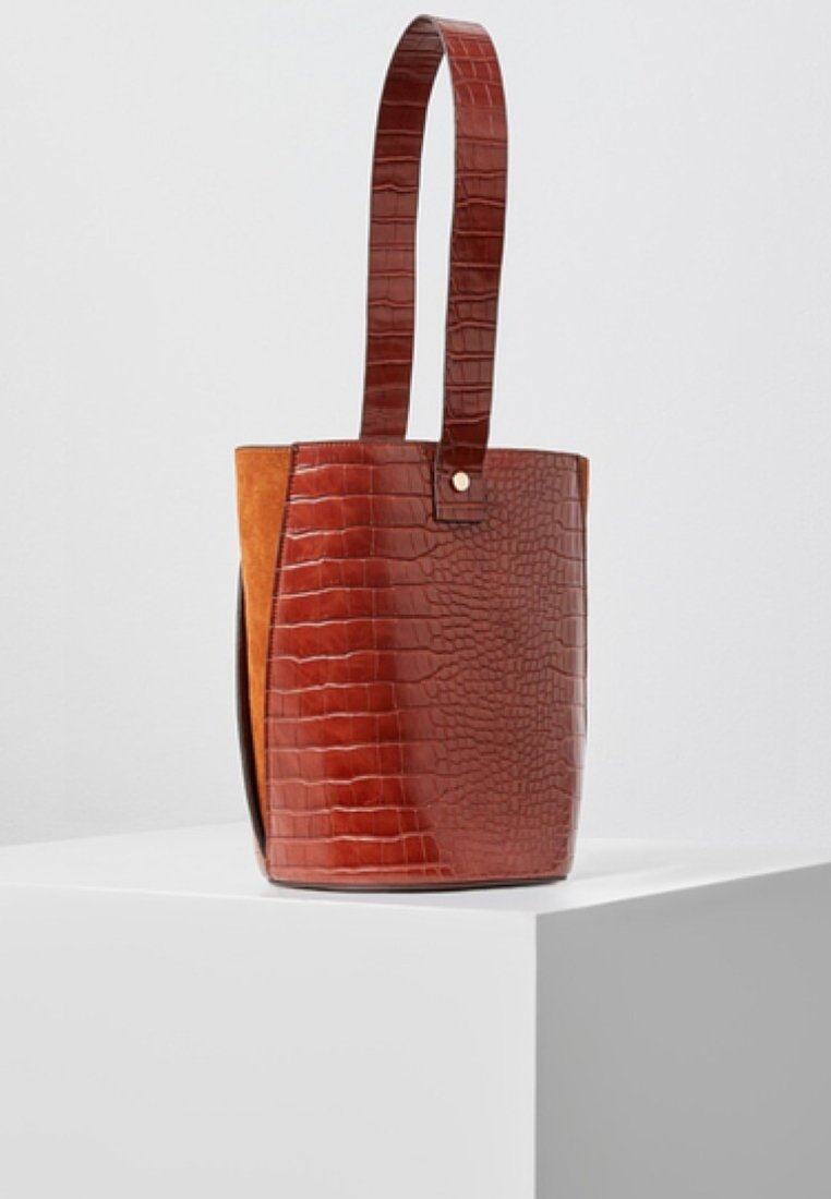 Violeta by Mango - ITALY - Tote bag - brown