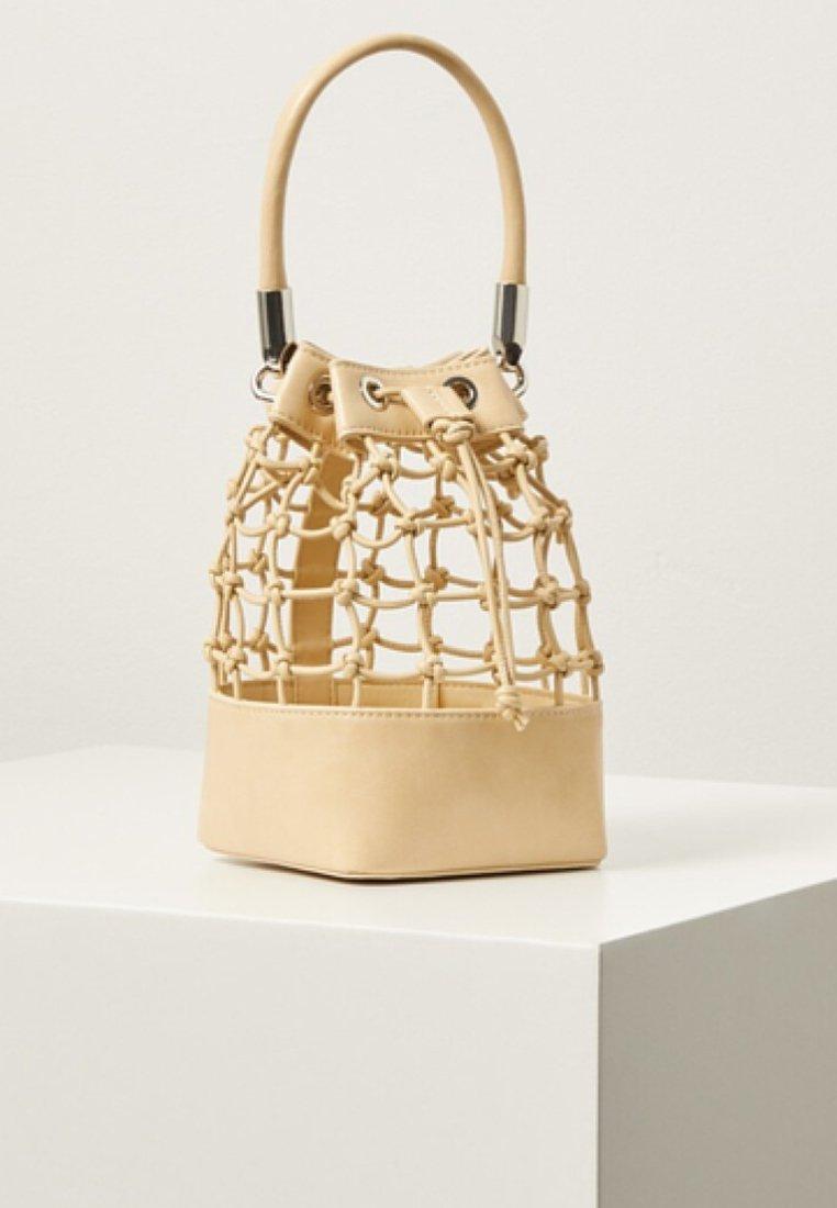 Violeta by Mango - KNOT - Handbag - ecru