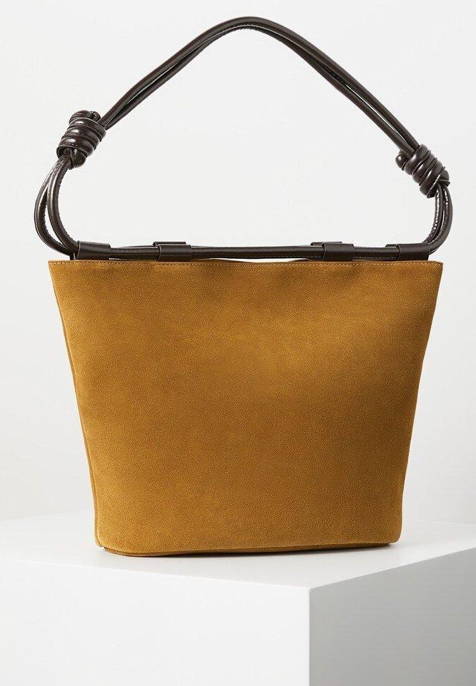Violeta by Mango - NUDOS - Tote bag - medium brown