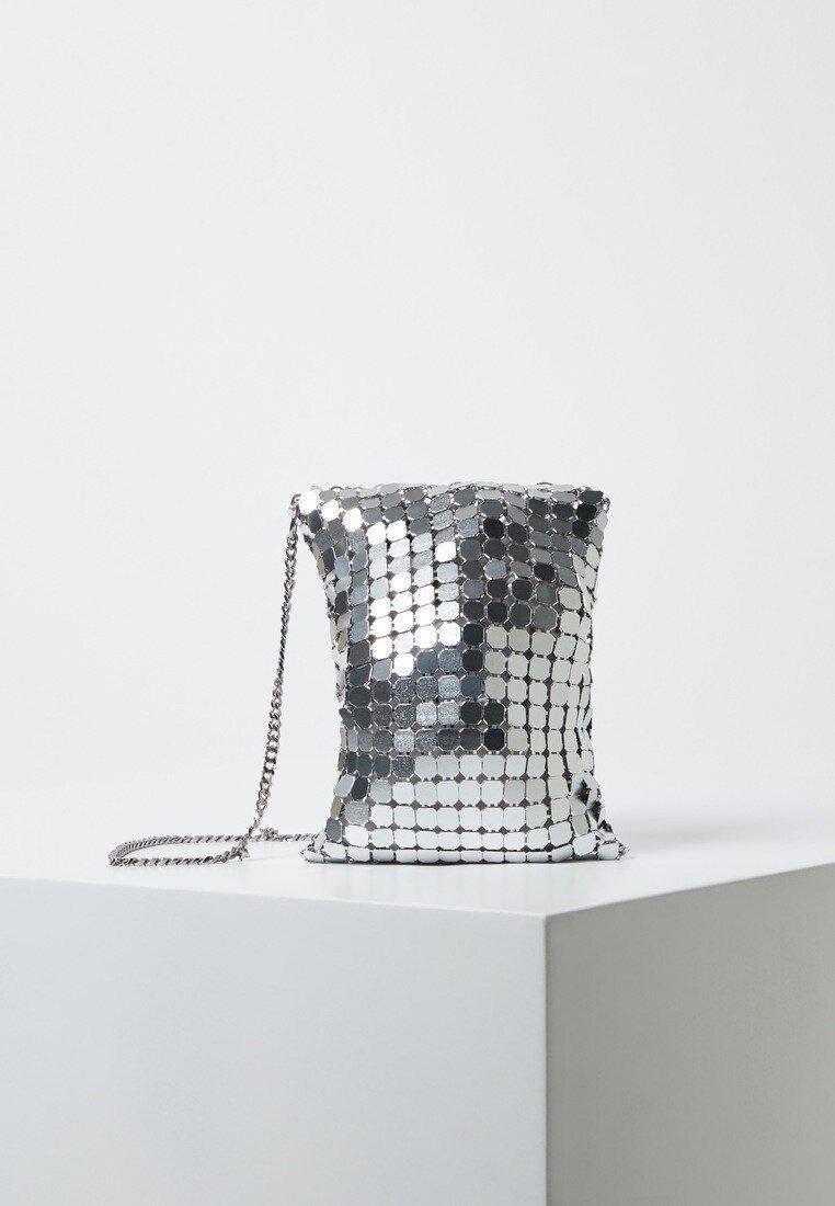 Violeta by Mango - MESS - Torba na ramię - silver