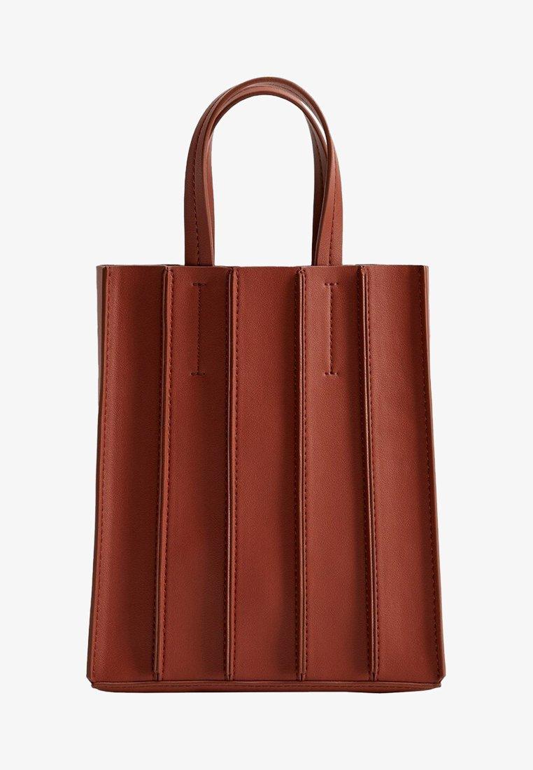 Violeta by Mango - ACORDEON - Shopping Bag - red