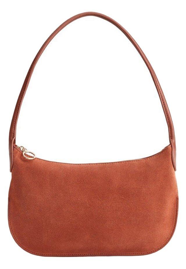 LUNA - Håndtasker - tobacco brown