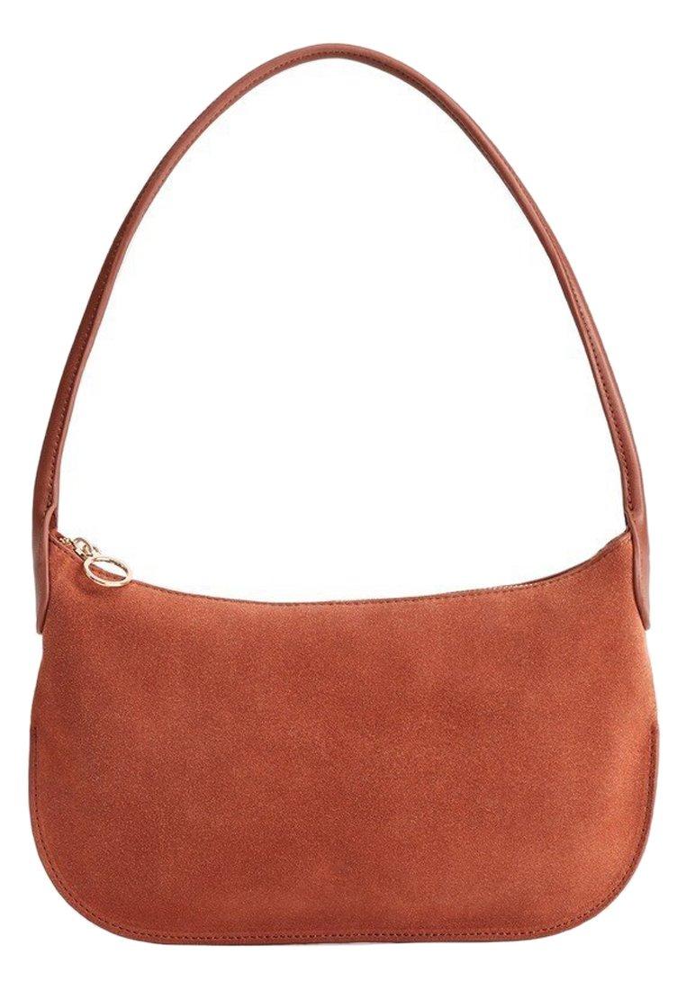 Violeta by Mango - LUNA - Handbag - tobacco brown