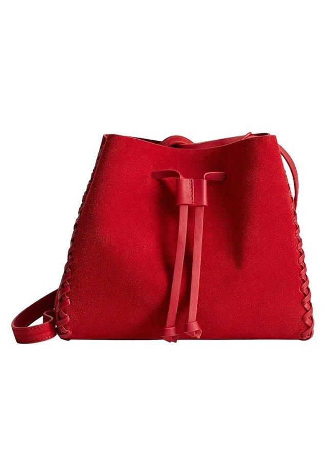 SHARON - Handbag - rot