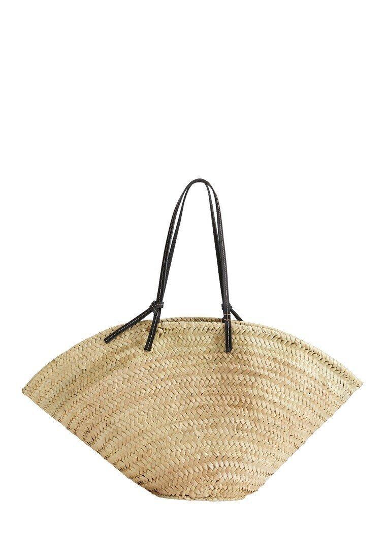 Violeta by Mango - FARMER - Shopping Bag - ecru