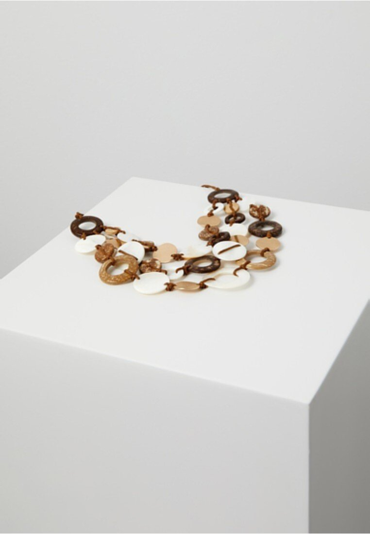 Violeta by Mango - ATTICUS - Necklace - brown