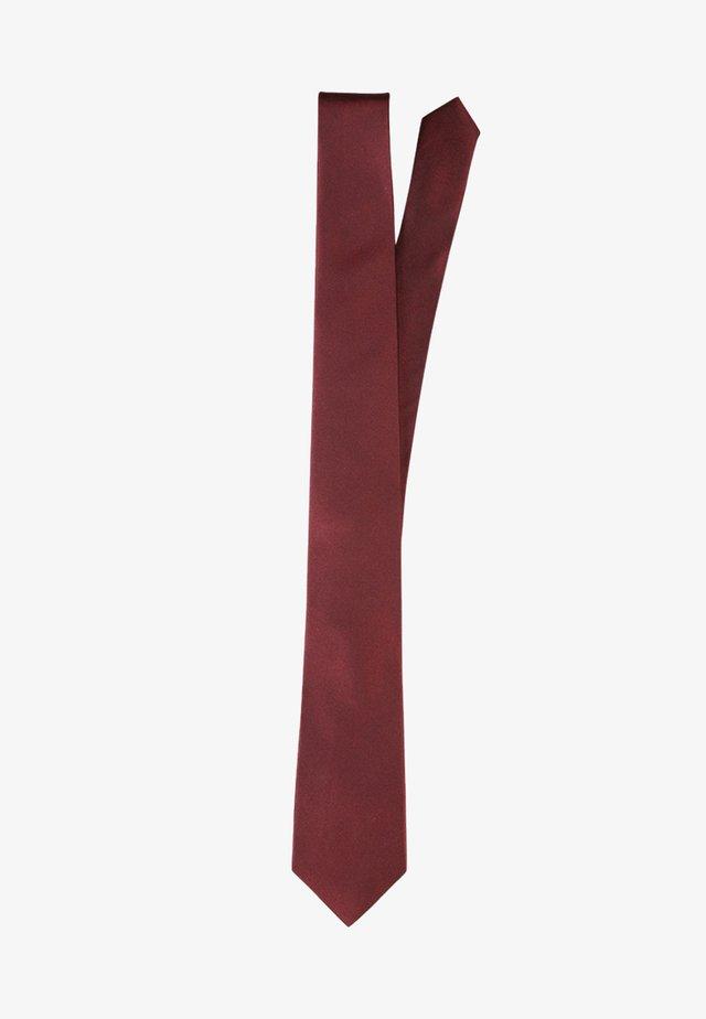 Tie - bordeaux