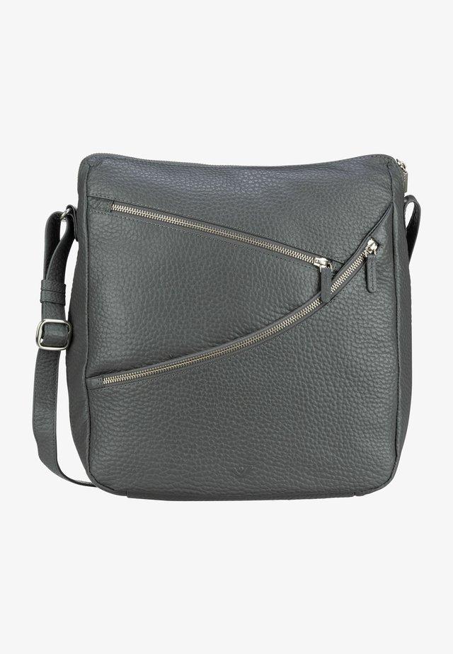 KANDA - Across body bag - stahl
