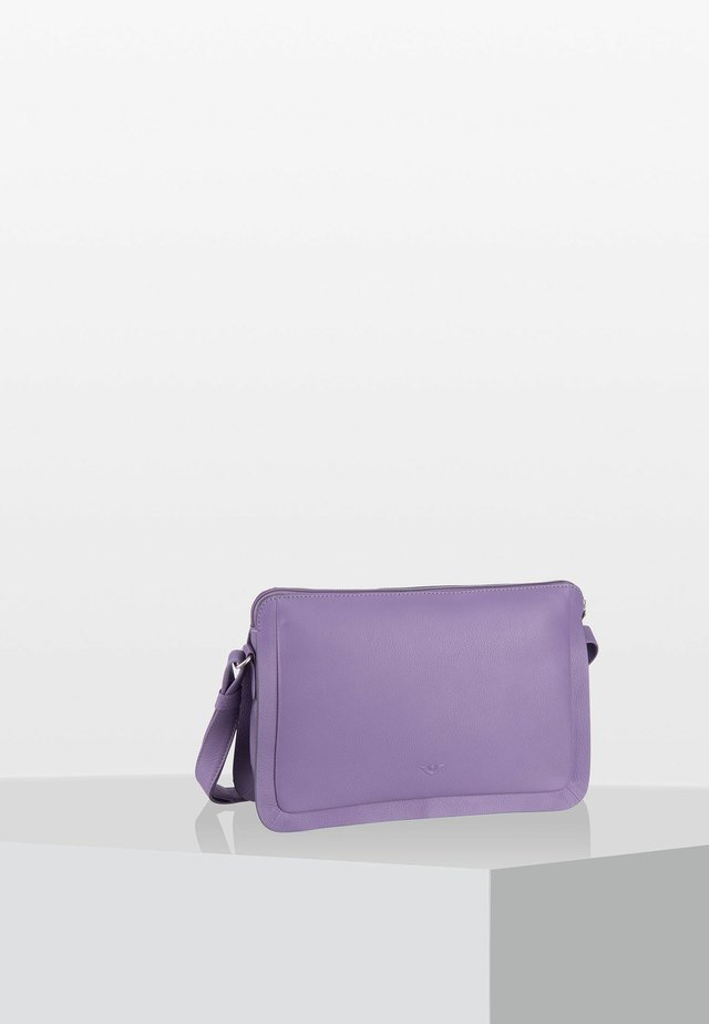DELUXE  - Across body bag - frosted violett