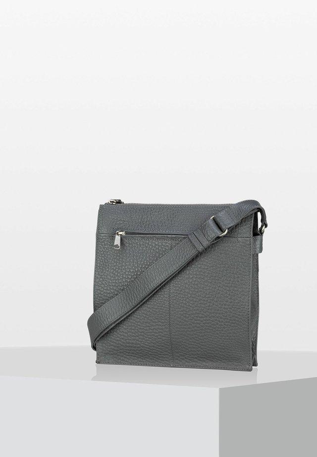 HIRSCH SERAFINA - Across body bag - stahl