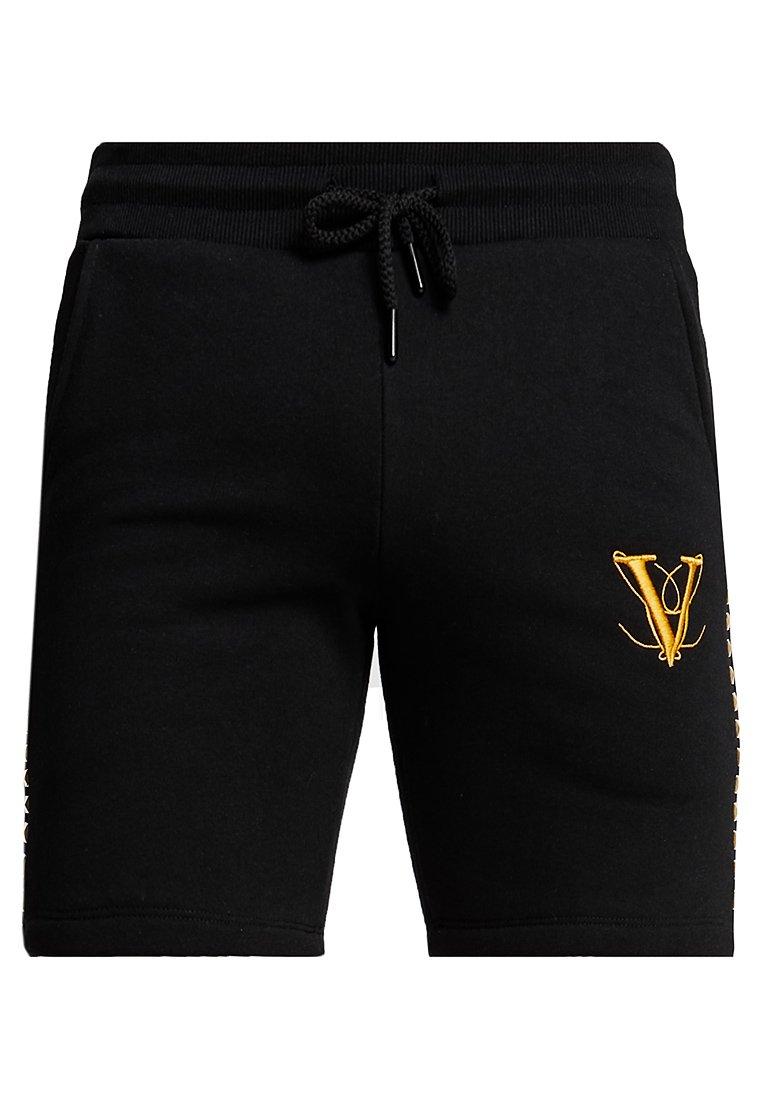 Volé la lumière  - PYRAMID STUD - Shorts - black