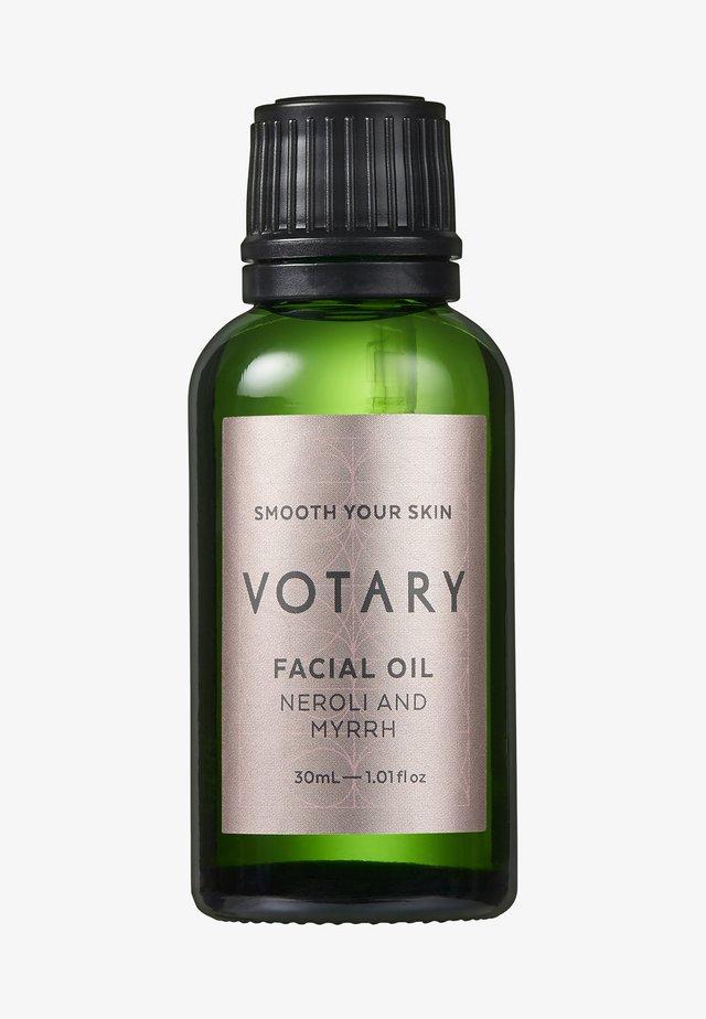 FACIAL OIL - NEROLI & MYRRH - Huile pour le visage - -