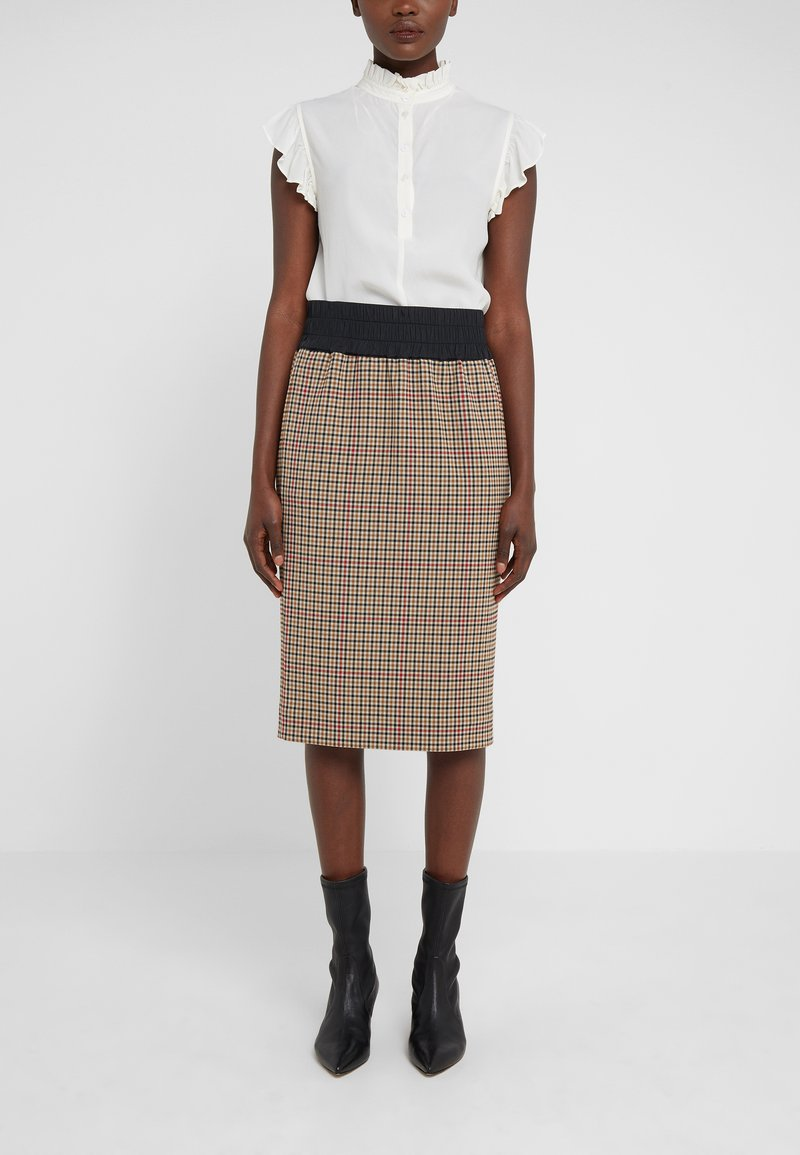 Vivienne Westwood Anglomania - NEW PENCIL SKIRT - Pencil skirt - multi