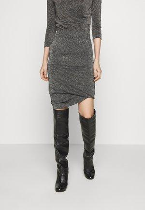 PUNK SKIRT - Pouzdrová sukně - rainbow