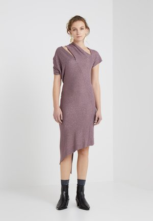 TIMANS DRESS - Strikkjoler - pink